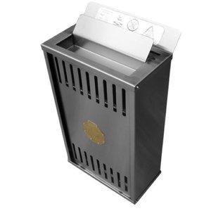 Sauna Seca Elétrica 6kW Bifásico Inox de Parede com Comando Digital Impercap