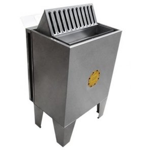 Sauna Seca Elétrica 9kw Trifásico Inox de Piso com Comando Digital Impercap