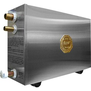 Sauna a Vapor Elétrica 12kw Trifásico Inox com Comando Digital Impercap