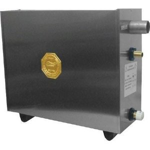 Sauna a Vapor Elétrica 16kw Bifásico Inox com Comando Digital Impercap