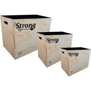 Box Jump Crossfit - Kit Com 3 Caixas 24' 16' 12
