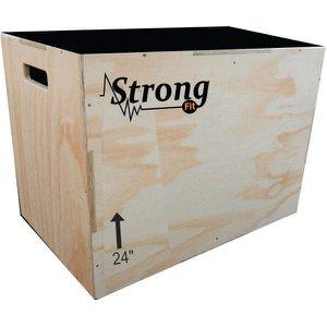 Caixote Crossfit 24 3x1 Jamp Box / Plyo box /caixa de salto