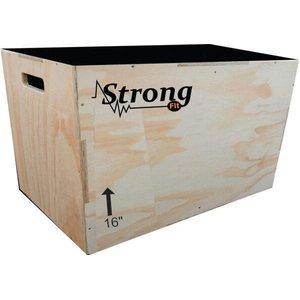 Caixa De Salto, Box Jump Para Crossfit 60x50x40 3x1 Oficial