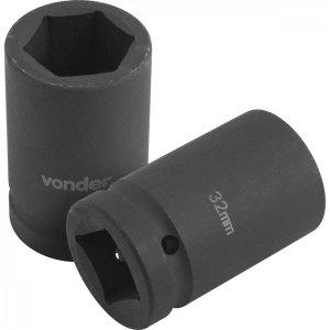 """Soquete sextavado 32 mm para chave de roda desforcímetro/multiplicador de torque com encaixe 1"""" Vond"""