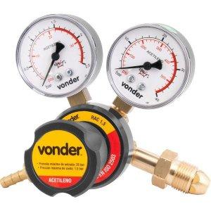 Regulador de pressão acetileno rac1,5 - Vonder