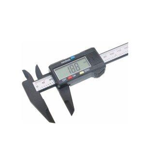 Paquímetro Digital Fibra Carbono 150mm - Idea