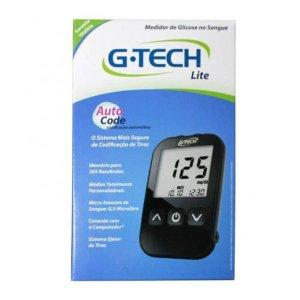 G Tech Free Lite Aparelho Medidor de Glicose C/10 Tiras