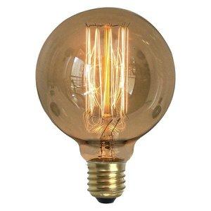 Lâmpada Retrô Decorativa Vintage Thomas Edison G95 220v