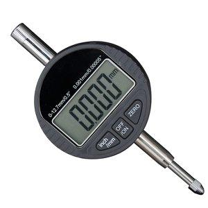 Relógio Comparador Milesimal Digital 0-25 4mm 0,001 + Bateria
