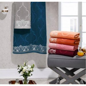 Toalha De Rosto Marrocos Kit 12 Toalhas Coloridas - Lufamar