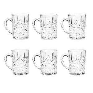 Conjunto 6 Canecas Para Cappuccino de Vidro Dublin 172ml - Lyor