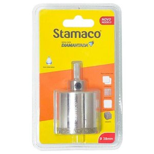 Serra Copo Diamantada com Rosca Stamaco, 38 mm - 1850