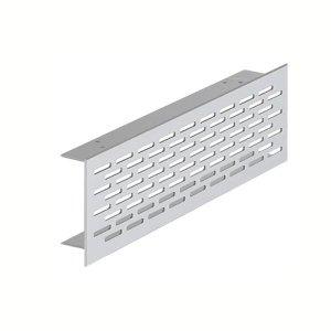 Grade de Ventilação Alumínio 500X70 mm Hafele Hafele