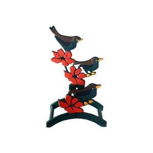 Suporte para Mangueira - Modelo Pássaro em Alumínio Fundido