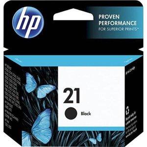 Cartucho de Tinta HP 21 7ML Preto - Original