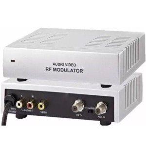 Modulador RCA áudio vídeo para RF - UP