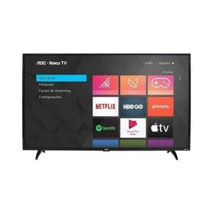 "Smart TV LED HD 32"" AOC 32S5195/78G, HDR, 3 HDMI, 1 USB, Wi-Fi Integrado"