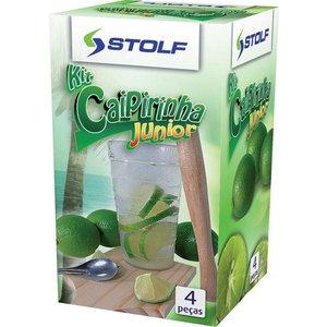 Kit Caipirinha 4 pçs Junior Stolf