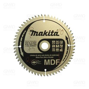 Disco Serra Circular de Trilho para MDF 165x20mm 60d Tcg