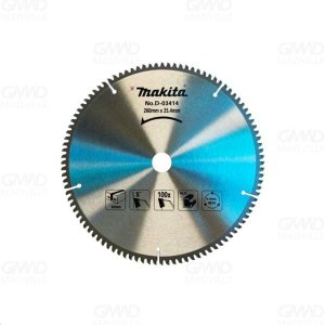 Disco Serra Esquadria para Alumínio 260x25,4mm 100 Dentes