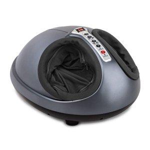 Massageador para Pés Ease Foot com Airbags, Roller e Aquecimento - Massage Express - Cor Cinza