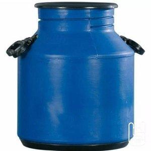 Galão Leite Leiteira 30 Litros Boca Larga Azul Injesul