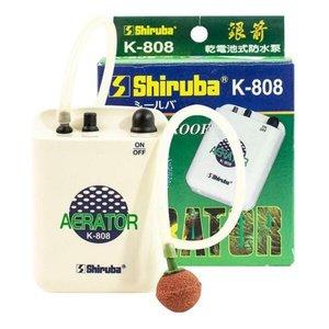 Bomba Compressor Ar Com A Pilha Shiruba K-808 Aquário Isca