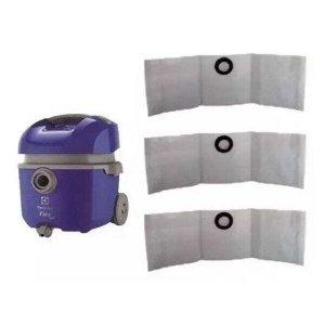 9 Sacos Descartáveis para Aspirador de Pó Electrolux Flex 1400 - Gt 3000 Novo - A10 - PortoPel