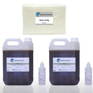 Kit Reparo - Resina Poliéster 10 Kg Manta 450 5 Kg