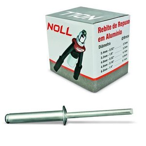 Rebite Repuxo Ra519 48 X 190 Mm 250 Peças Noll