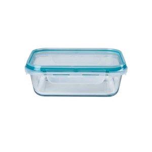Pote de vidro Borosilicato - 1500 ml - Retangular