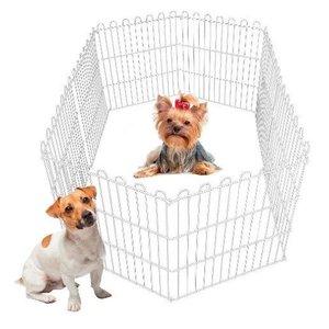Cercado Pet Cachorros Cães Coelhos Gatos 10 Lados 60alt X55c