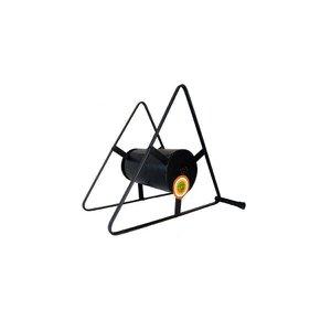 Suporte Enrolador De Mangueira Triângulo 32x29x18cm