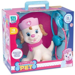 Brinquedo Esquadrão Pet Dodói Super Toys