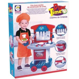 Conjunto Cozinha Infantil Play Time Cotiplás