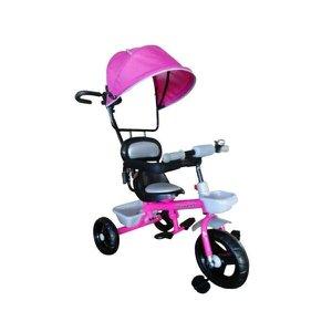 Triciclo Infantil Brinqway com Capota BW-084RS - Rosa