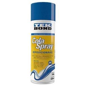 Cola Spray de Reposição P/ Base Silhouette 340g/500ml Tekbond - 6200