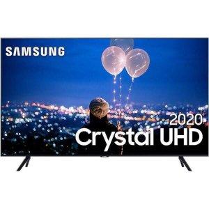 "Smart TV 4K Samsung 55"" TU8000, UHD, 3 HDMI, 2 USB, Wi-Fi Integrado"