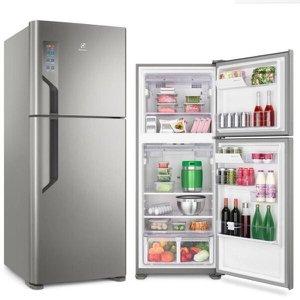 Refrigerador Electrolux Top Freezer 431L Platinum 127V TF55S