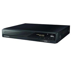 DVD Mondial Black Line D-22 Preto - Bivolt