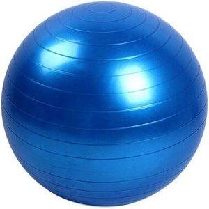 Bola para Exercícios Pilates 65cm Suporta até 150 Kg Azul