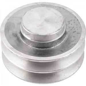 Polia de alumínio 2 canais B - 100 mm Vonder