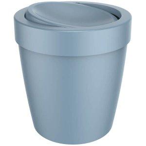 Lixeira Tampa Basculante Vitra 5l Cesto Lixo Banheiro Ou Azul Glacial
