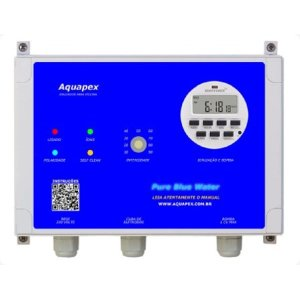 Ionizador Para Piscina 105 Mil Litros (105M³) Aquapex Pure Blue Water ION105KT