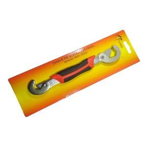 Chave Universal Mestra Com Boca Ajustável 9 A 22mm Em Aço