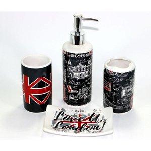 Conjunto Jogo Para Banheiro Em Cerâmica 4 Peças London London