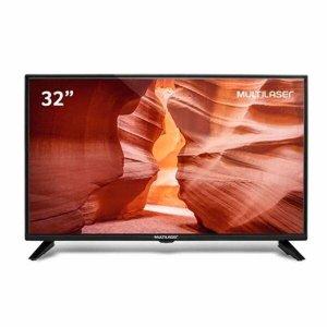 Tv 32 Polegadas HD Multilaser Hdmi Usb + Conversor Digital Tl017