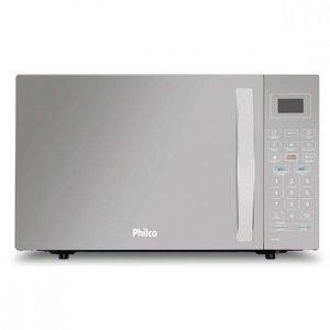 Micro-ondas Philco 26 Litros Branco Espelhado PMO26EB - 110V