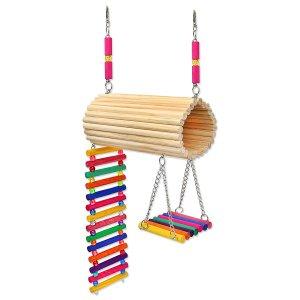 Brinquedo Playground Twister Hamster Calopsita Periquito