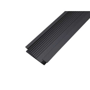 Perfil Embutir Rodapé Alumínio 2 Metros Para Fita LED